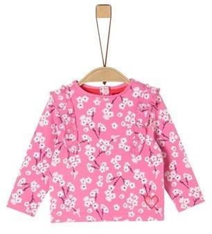 S.Oliver Jersey-Longsleeve Shirt rose (2022763)