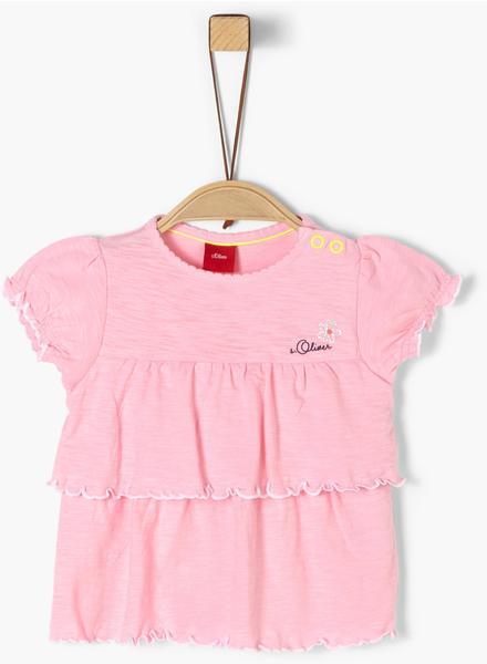 S.Oliver Jersey-T-Shirt rose (2019905)