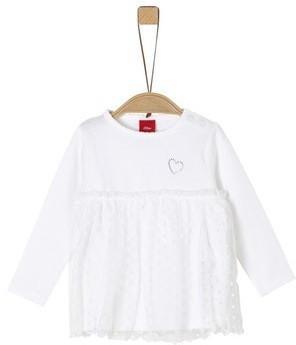 S.Oliver Longsleeve Shirt white (1279076)