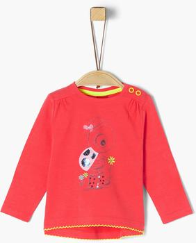 S.Oliver Longsleeve red (2021269)