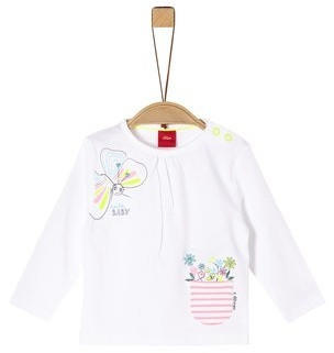 S.Oliver Longsleeve Shirt white (2037943)
