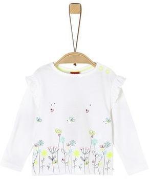 S.Oliver Longsleeve Shirt white (2021034)