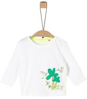 S.Oliver Jersey-Longsleeve Shirt white (2021210)