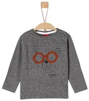 S.Oliver Longsleeve Shirt grey (1251675)