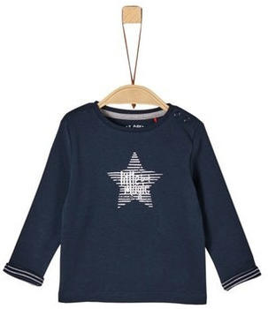 S.Oliver Jersey-Longsleeve Shirt blue (1271187)
