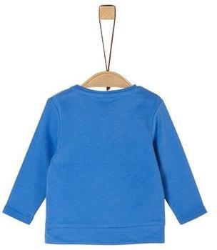 S.Oliver Jersey-Longsleeve Shirt blue (2022016)