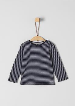 S.Oliver Jersey-Longsleeve Shirt blue (1271202)