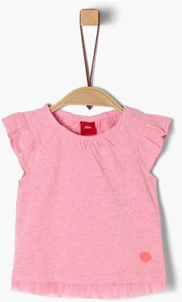 S.Oliver T-Shirt pink melange (32.6080-44W6)