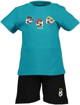 Blue Seven 2er Set T-Shirt + Capri Hose Lagune (939524-661)