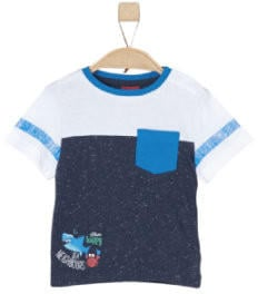S.Oliver T-Shirt dark blue melange (32.4781-58W6)
