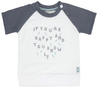 Feetje T-Shirt you're so happy smile weiß (517.00447-550)