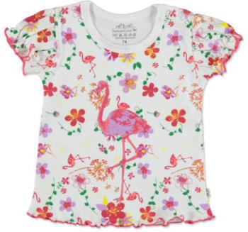 Ebi & Ebi Fairtrade T-Shirt Flamingo weiß (2322533-1)