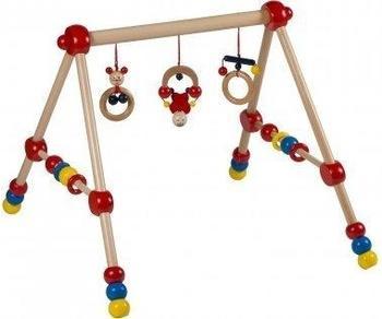 Bieco höhenverstellbares Baby-Gym Holz