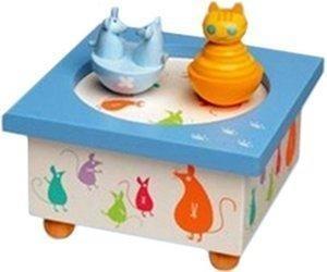 Trousselier Katze + Maus Musik-Box (95011)