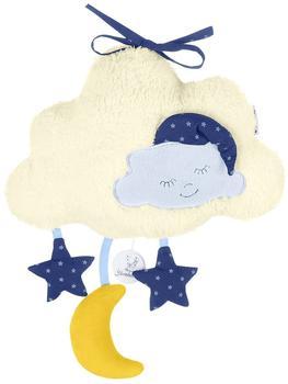 Sterntaler Spieluhr Wolke mit Mond und Sternen Large