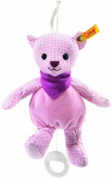 Steiff Zirkus-Teddybär Spieluhr rosa