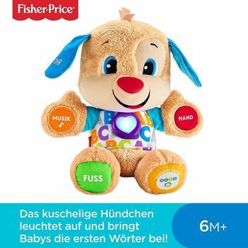 mattel-fisher-price-fpm50-lernspass-huendchen-plueschtier-und-lernspielzeug-mit-liedern-und-saet