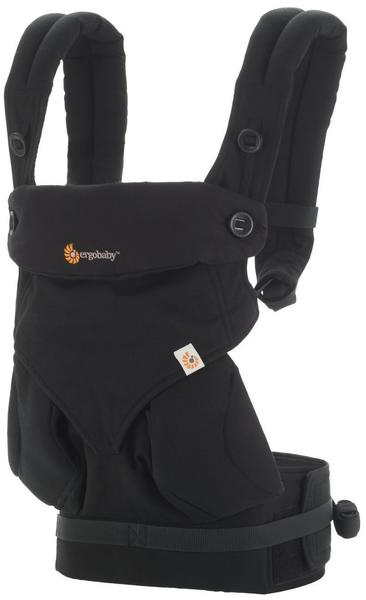 Ergobaby Four Position 360 Baby Carrier - Pures Schwarz