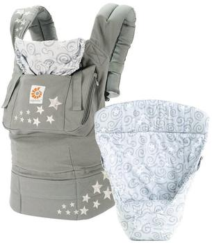 Ergobaby Carrier Original Galaxy + Infant insert - grey