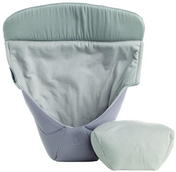 Ergobaby Neugeborenen-Einsatz Kollektion Original Cool Air Mesh Easy Snug - Grey