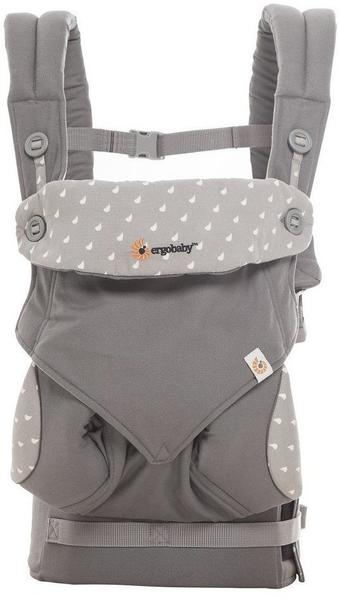 Ergobaby Four Position 360 Baby Carrier - Dewy Grey