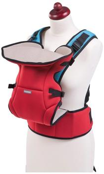 Childweels Neopren baby Carrier 3 Way - Red