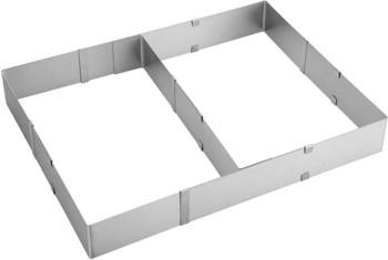 CHG Kuchenrahmen mit Teiler 5 cm