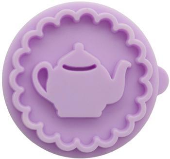 Birkmann Stempel-Set CupCake und Teekanne 2-teilig