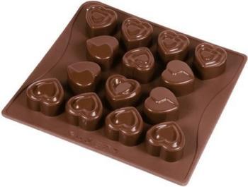 Dr. Oetker Silikon Schokoladenform Süße Herzen