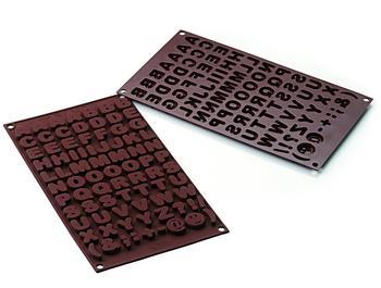 Silikomart Schokoladenform Choco ABC