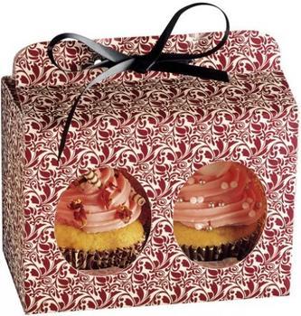 Kaiser Geschenkbox Muffin / Cup Cake 2-er Set