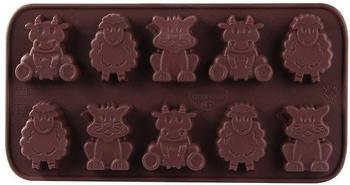 Dr. Oetker Confiserie Schokoladenform Kleine Farm