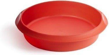 Lékué Round Cake 24 cm red