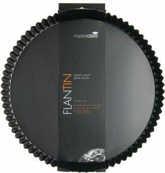 Kitchen Craft Master Class Non-Stick Flan/Quiche Tin Round 30cm