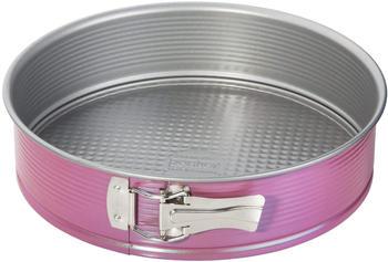 Zenker Creative Studio Springform mit Flachboden 26 cm rosa