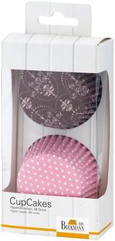 Birkmann Muffinform CupCake-PapierförmchenLa belle Rose 48 Stück