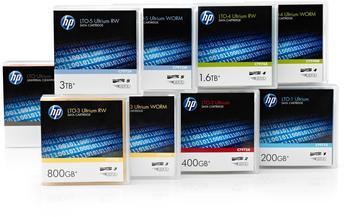 Hewlett-Packard HP Ultrium 3 RW Data Cartridge 400GB (C7973AG)