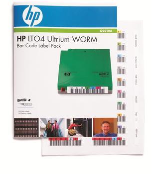 Hewlett-Packard HP LTO-4 WORM Strichcodeetiketten