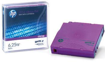Hewlett-Packard HP LTO-6 Ultrium BaFe Unlabelled (Eco Pack)