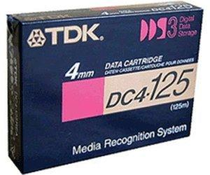 TDK 4mm Kassette 125m 12/24 GB DDS-3