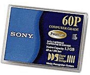 Sony 4mm Kassette 60m 1,3 GB DDS-1