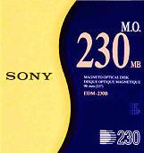 Sony Optical Disk 230 MB