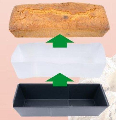Fackelmann Backpapiereinlage für Kastenform