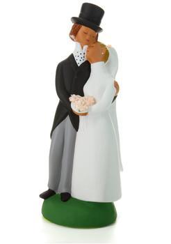 Jullar Kuchendekoration Brautpaar, groß
