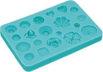 Kitchen Craft Rosettes Design Fondant Mould