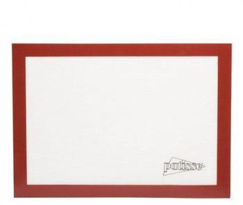 Patisse Backmatte Glasfaser 42 x 30 cm weiß/rot