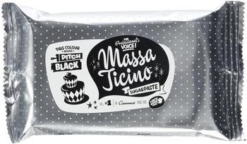 Carma Massa Ticino Sugarpaste Pitch Black (250g)