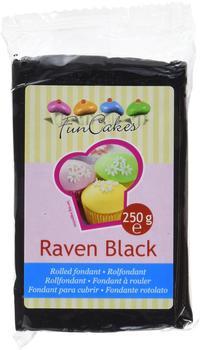 FunCakes Rollfondant Raven Black (250g)