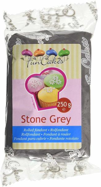 FunCakes Rollfondant Stone Grey (250g)