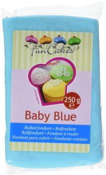 FunCakes Rollfondant Baby Blue (250g)